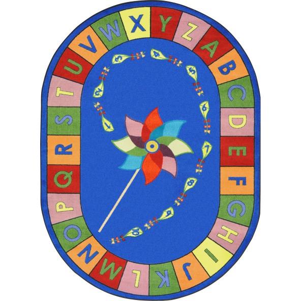 Alphabet Pinwheel