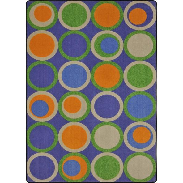 Rugs circle back joy carpets for Green label carpet