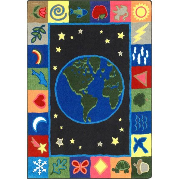 Rugs earthworks joy carpets for Green label carpet