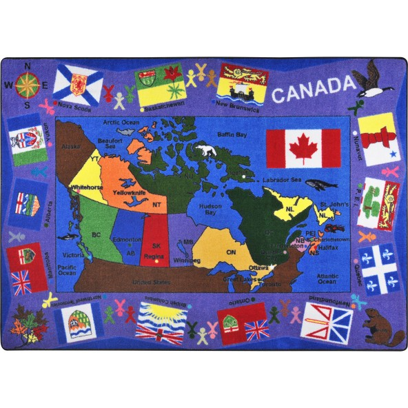 Rugs Flags Of Canada Joy Carpets