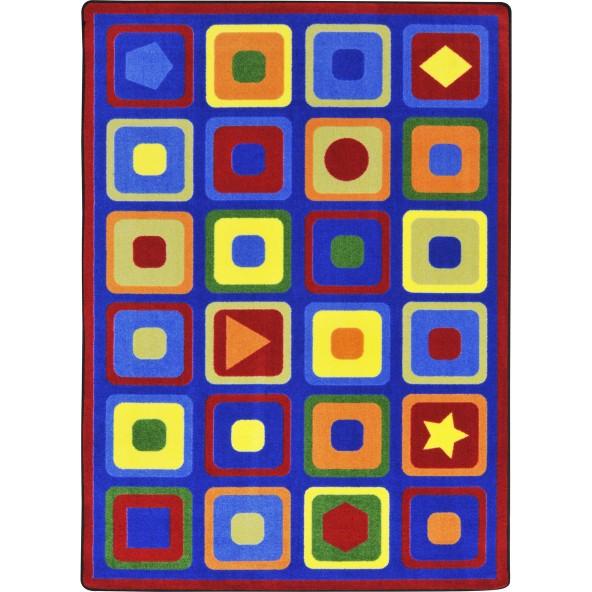 Rugs seeking shapes joy carpets for Green label carpet