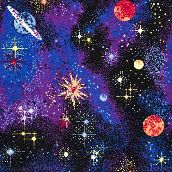 Carpet Space Explorer Fluorescent Joy Carpets