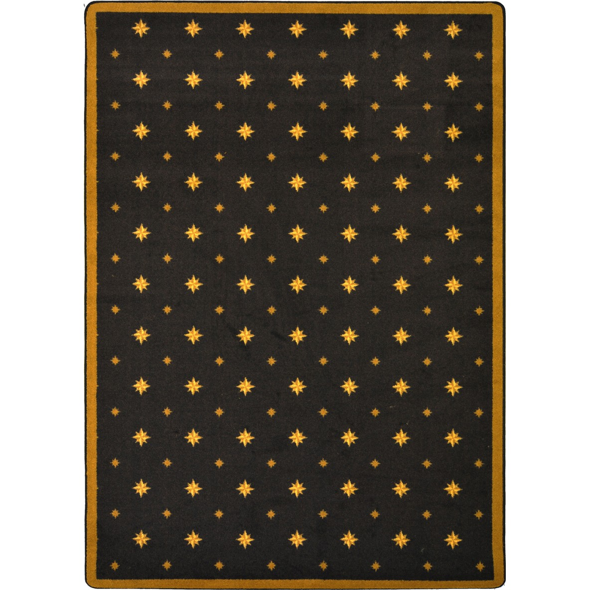 Joy Carpets Any Day Matinee Walk Of Fame Brown Area Rug
