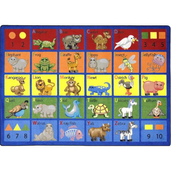 Animal Phonics Rug Joy Carpets
