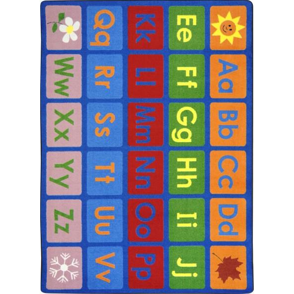 Any Day Alphabet Rug