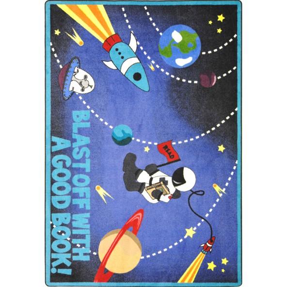 Blast Off With A Good Book Rug Joy Carpets