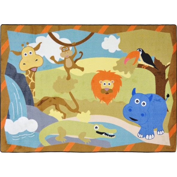 Jungle Babies Rug Joy Carpets