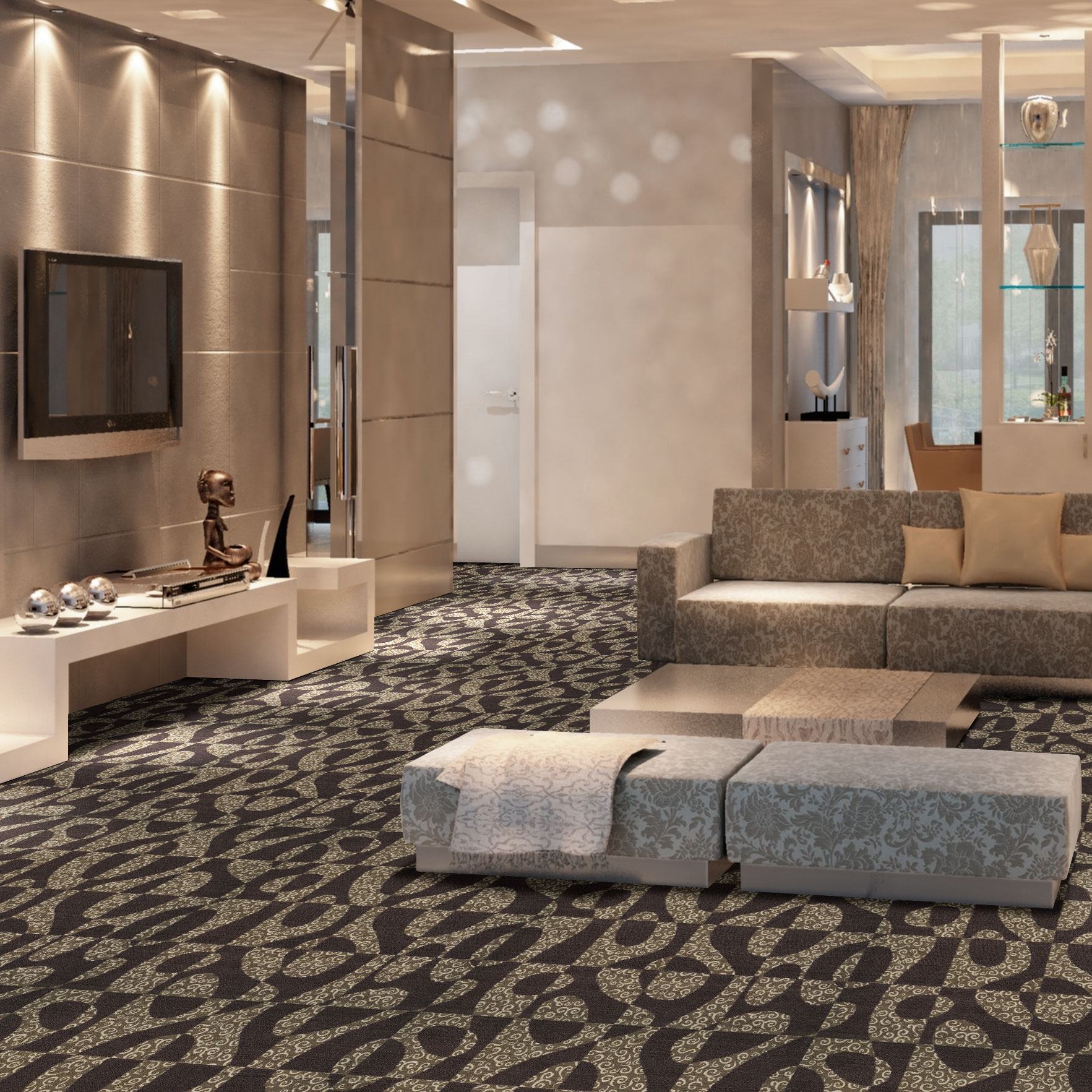 Aquarius Carpet Tile
