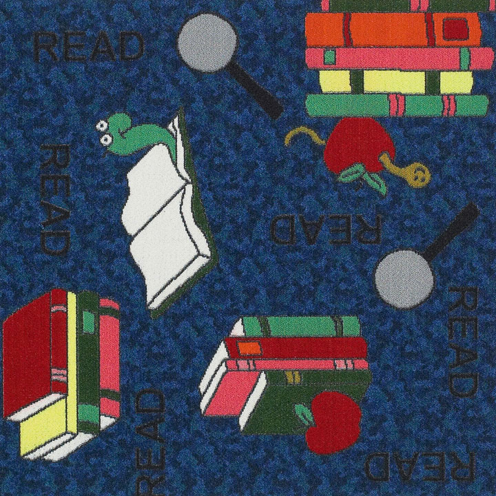 Bookworm Carpet Tile